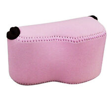 Pink camera case for Canon PowerShot SX400IS SX400 SX410 JJC OC-S1P DMC-LX100 IS