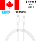 Quality USB Type C 3.1 to 8 pin Data PD Quick Fast Charge Cable for iPhone iPad
