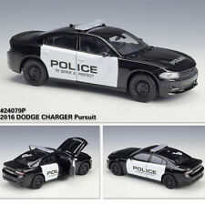 1:24 Scale Diecast Model Cars Collection 2016 Dodge Charger Pursuit Police Car