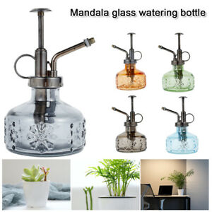 Glass Garden Can Mister Retro Flower Indoor/Outdoor Plants Spray Bottle Watering