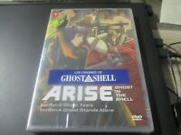 "DVD NEUF ""GHOST IN THE SHELL : ARISE , FILMS 3 & 4"" manga"