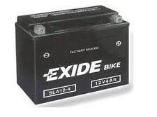 Batterie moto Exide SLA12-4 / 12v 3ah YTX4L-BS Moto Batterie - 3ah