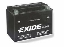 Batterie moto Exide SLA12-4 /SANS ENTRETIEN YTX4LBS YTX4L-BS