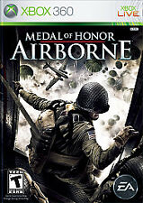 MEDAL OF HONOR AIRBORNE Microsoft XBox 360 Game