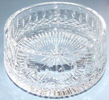 GORGEOUS LARGE WATERFORD CRYSTAL ROUND BOWL - LISMORE PATTERN  DIAMOND & WEDGE