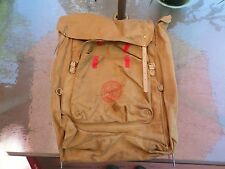 Vintage Boy Scouts backpack 1329 Deluxe canvas W/interior metal frame