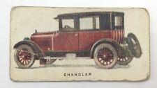 Motor Cars 1924 Chandler Sedan Automobile Imperial Tobacco Card 2 F107