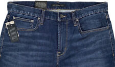 Men's JOHN VARVATOS USA Blue Jeans 38 38x32 NWT NEW Authentic Classic Straight