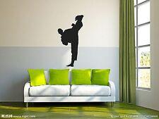 Karate Taekwondo Chinese Kung Fu Art Wall Living Room Vinyl Decal DIY