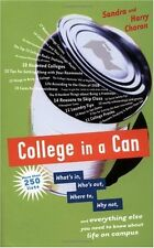 College in a Can: Whats in, Whos out, Where to,