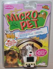 Bluebird Toys 1997 Micro Pet 2nd Generation Virtual Puppy with Real Sounds NEW!