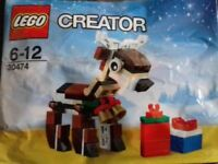 LEGO 30474 REINDEER POLYBAG CHRISTMAS SET 77PCS