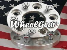 2 | 5X4.75 WHEEL SPACERS ADAPTERS| 2-INCHES | CHEVY CORVETTE CAMARO | 7/16 STUDS