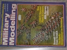 $$$ Revue Military Modelling May 1982  Renault FT17  The Horde  10th Hussars