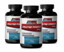 Energy Mix Drink - Creatine Monohydrate Powder 100g - Improved Muscular Mass 3B