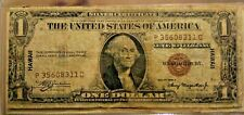 1935-A Hawaii $1 Silver Certificate US One Dollar Antique Old Currency Bill Note