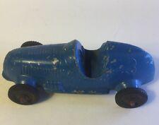 Vintage Tootsietoy Diecast #3 Blue Race Car