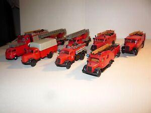 H0 Konvolut Feuerwehr Einsatzfahrzeuge RoCo und andere