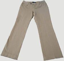 "Lauren Ralph Lauren Women's Chino Pants ""Adelle"" Khaki - Size 2 (Petite)F4"