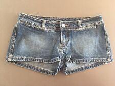 Ladies LEE  Denim Shorts Size 9 Blue Short Mini