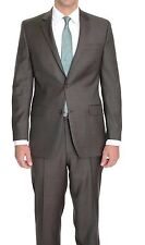 Alfani Mens Blazer Sz 42S Short Charcoal Gray Striped Business Slim Fit Jacket