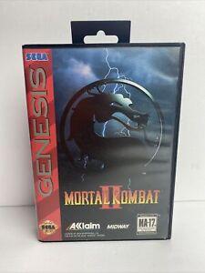 Sega Genesis Video Game Mortal Kombat II (1994) Complete