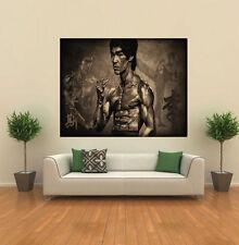 Bruce Lee Artes Marciales Wing Chun Papel Tapiz De Pared Gigante de arte cartel impresión A176