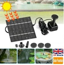 180L/H Square Solar Panel Floating Convenient Fountain Pump Home Pool Garden Kit