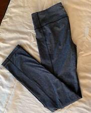 Nwot Gap GapFit Slim Straight Pants Charcoal Grey New Exercise Leggings Size M