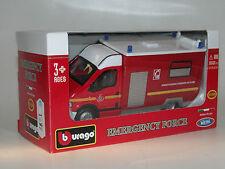 Bburago 18-32004, Renault Master Feuerwehr, Fire Engine, 1997, 1/50, OVP