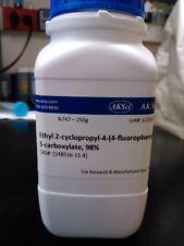 Ethyl 2-cyclopropyl-4-(4-fluorophenyl)-quinolyl-3-carboxylate, 98% 230 g
