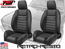 Pro-Series Complete Front Bucket Seats - Universal Fit - DRV & PAS - Front Sets
