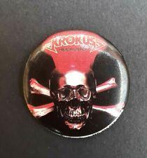 Vintage Krokus Headhunter Pin 1983