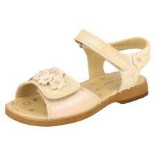 Sandales en cuir pour fille de 2 à 16 ans pointure 26