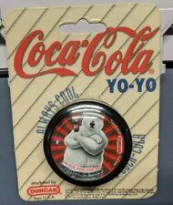 Coca Cola Yo Yo 1997 Black Cool Polar Bear Vintage Coke Duncan Bottle Always