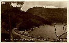 Loch Lomond Scotland Scottland Scotish ~1950/60 Road between Inverbeg and Tarbet