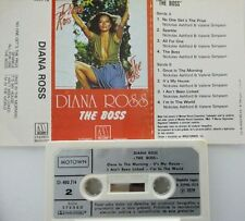 DIANA ROSS The boss RARE SPANISH EDITION PAPER LABEL  1979  ONLY SPAIN 1974