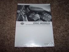 2004 Harley Davidson VRSC V-Rod Electrical Wiring Diagram Manual VRSCA VRSCB