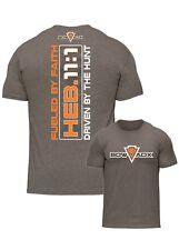 BOWADX- FUELED BY FAITH BOWHUNTING and ARCHERY T-Shirt (Hoyt, Mathews, Elite)