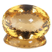 VVS Natural Citrine 186 Cts AAA Deluxe Quality Pendant Size Certified Gemstone