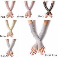 langer arm anti - uv - frauen handschuhe fingerless bein socken sonnencreme.