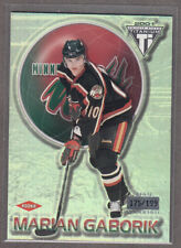 2000-01 MARIAN GABORIK #126 Private Stock Titanium / 199 Rookie