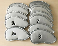 Custom 12x Golf Iron Cover Headcover For Taylormade Mizuno Callaway Ping PXG