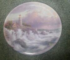 "Thomas Kinkade ""Conquering the Storm"" E7766 2001 Collectors Decorative Plate"
