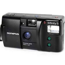 Olympus Infinity S Compact 35mm Automatic Point & Shoot Retro Film Camera