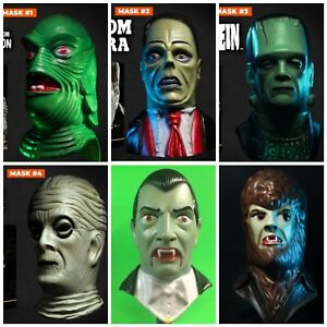 Loot Crate NECA Remco Mini Monsters Mask Set Universal Exclusive 6/6