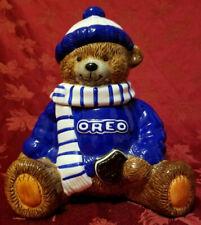 2001 Oreo Teddy Bear Cookie Jar Excellent Condition