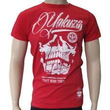 Skull Yakuza Herren-T-Shirts mit Rundhals-Ausschnitt