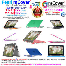 "NEW mCover® Hard Shell Case for 15.6"" HP ENVY X360 15-AQxxx m6-AQxxx 2in1 laptop"