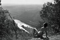 SKYLANDS SELF-PORTRAIT—Original Nude Male Fine Art Nature Photo Print— by PABLO